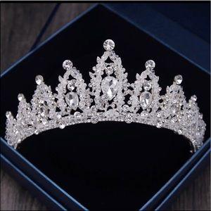 Rhinestone Bridal Wedding Crown